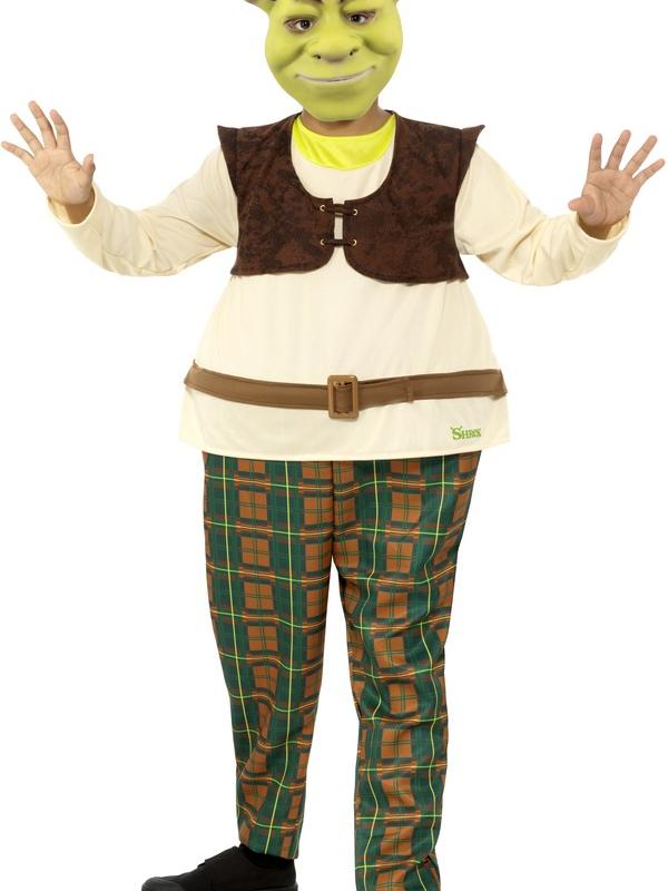 Shrek Kids Deluxe Kostuum Kids