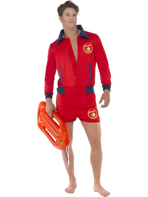 Baywatch Lifeguard Heren Kostuum