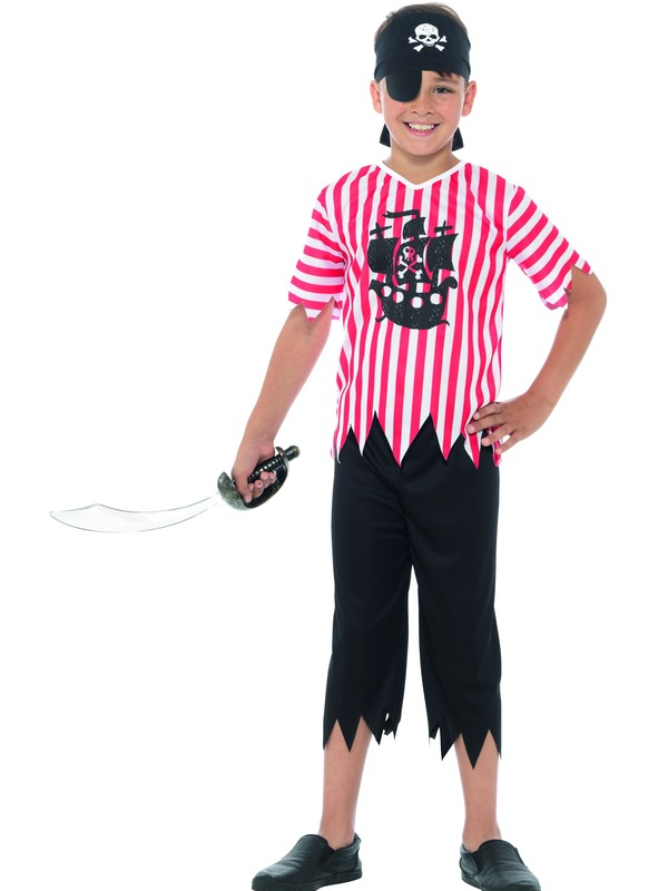 Jolly Pirate Boy Kostuum