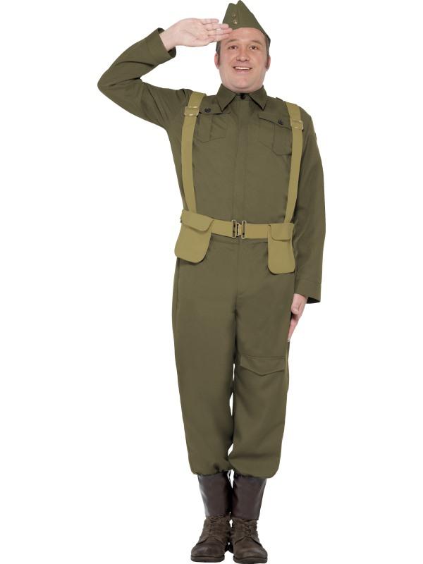 WW2 Home Guard Private Kostuum
