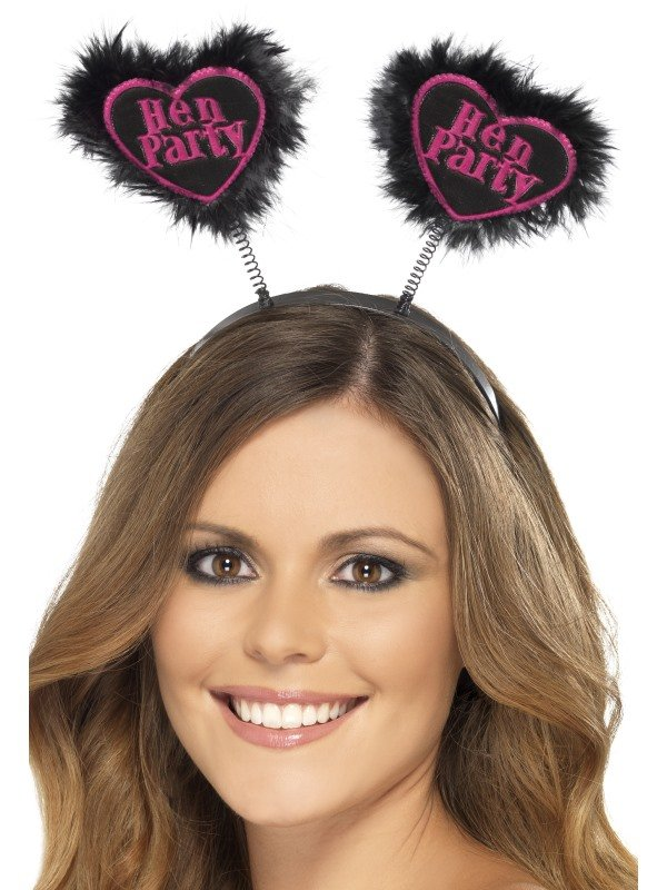 Hen Party Love Heart Boppers Diadeem