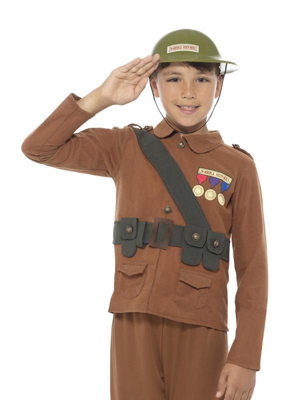 Horrible Histories Soldier Kostuum
