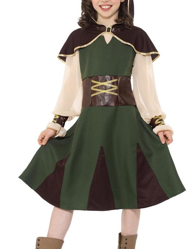 Robin Hood Girl Kostuum