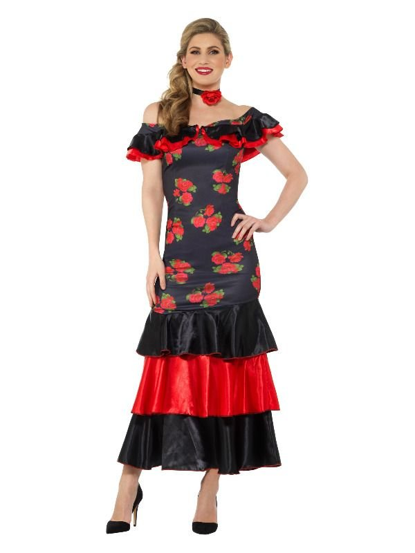 Flamenco Lady Kostuum