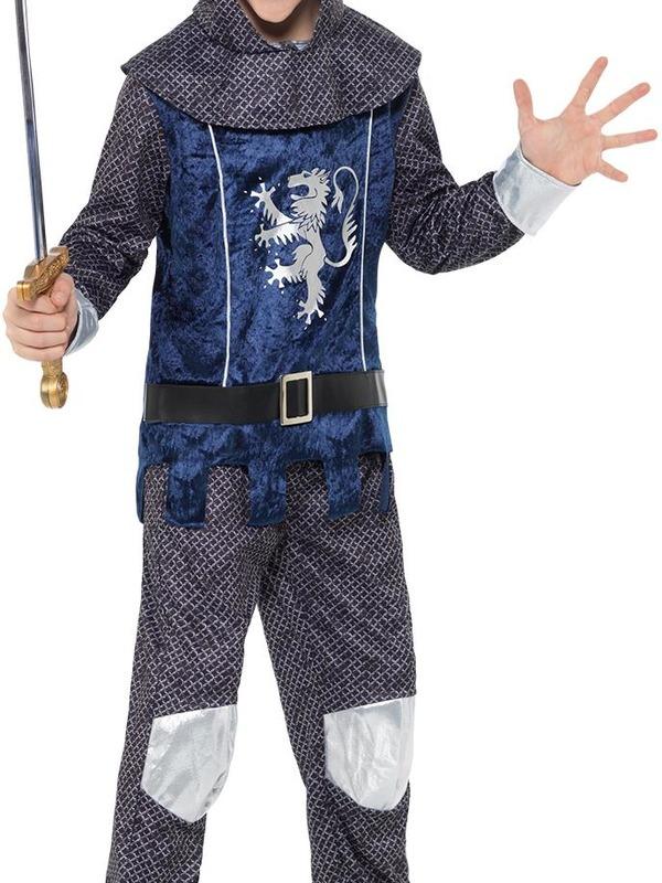 Medieval Knight Boy Kostuum