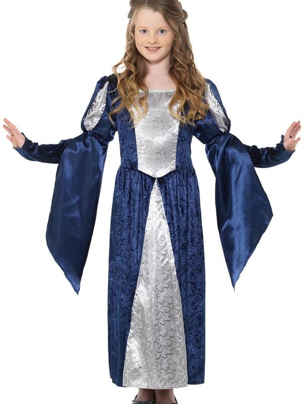 Medieval Maid Girl Kostuum