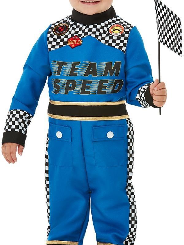 Racing Car Driver Peuter Kostuum
