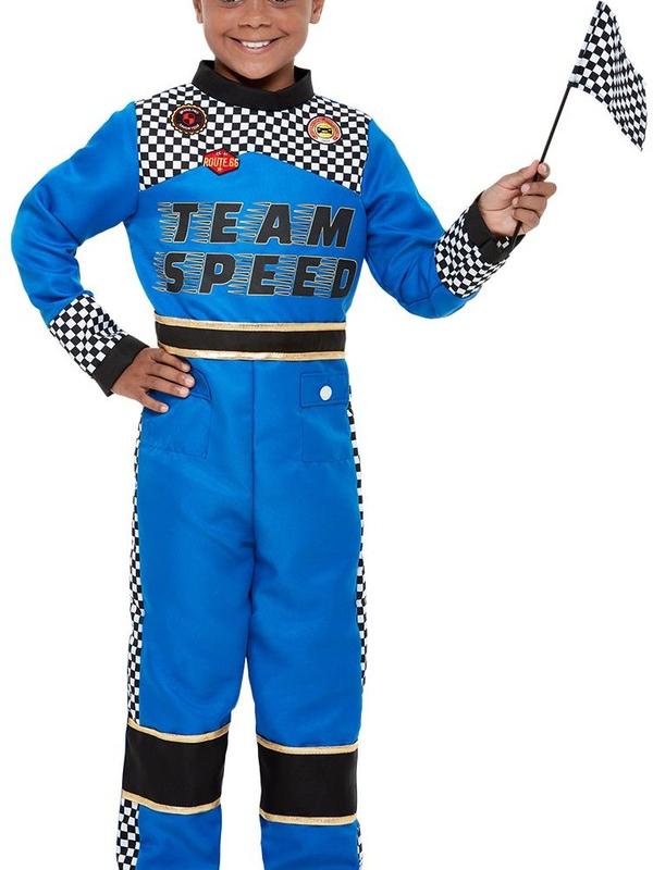 Racing Car Driver Kostuum
