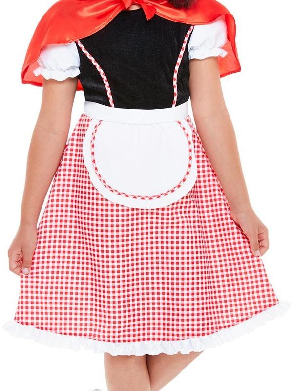 Deluxe Roodkapje Kinder Kostuum