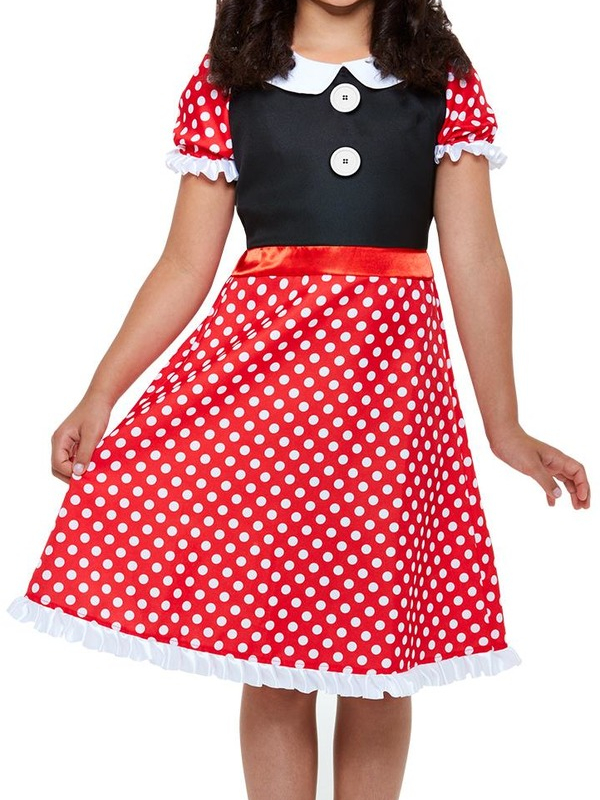 Cute Minnie Mouse Kinder Kostuum
