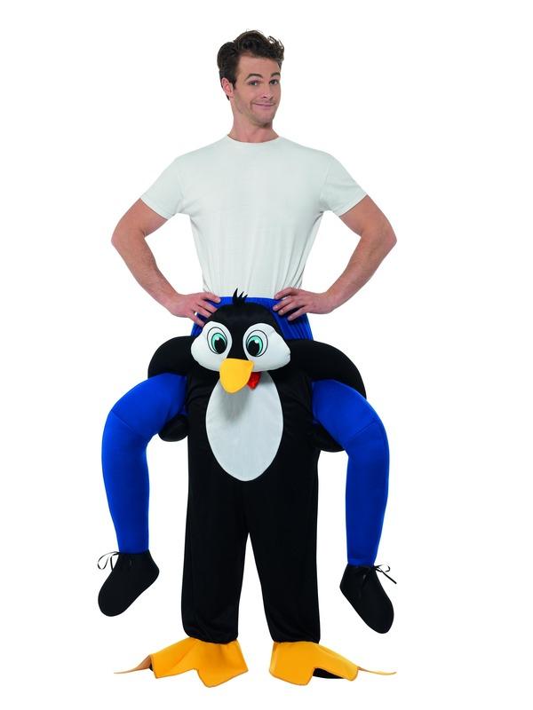 Piggyback Penguin Kostuum