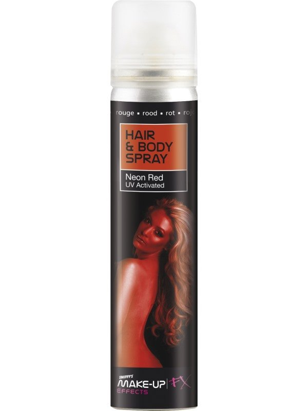 Hair and Body Spray Rood