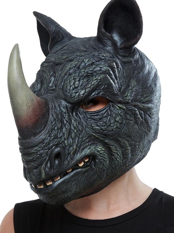 Neushoorn Latex Masker