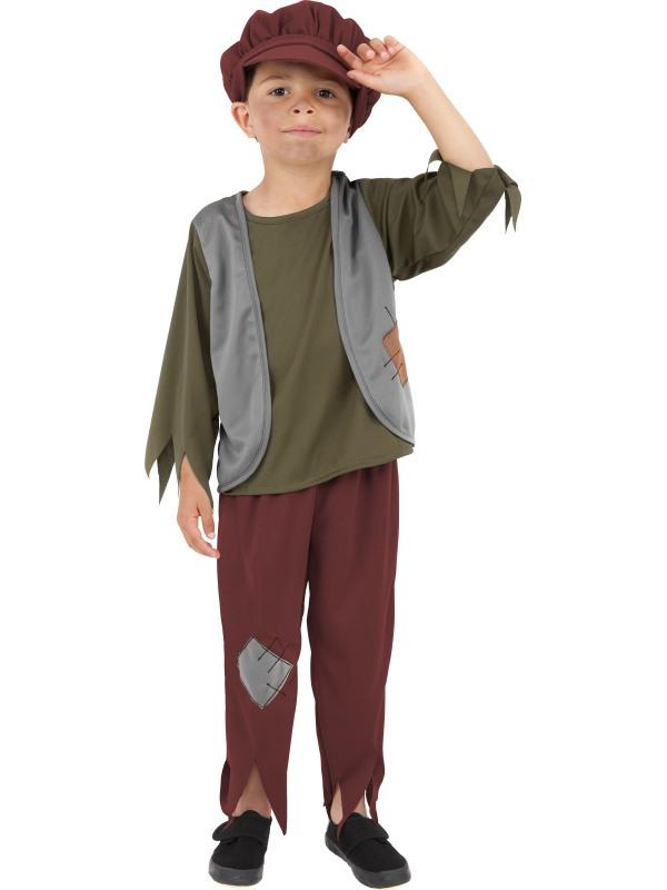 Victorian Poor Boy Kostuum