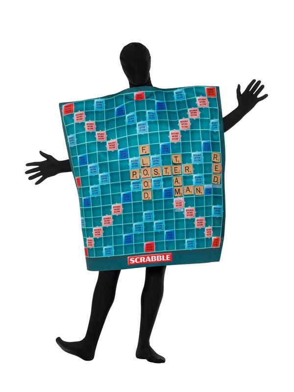 Scrabble Board Kostuum