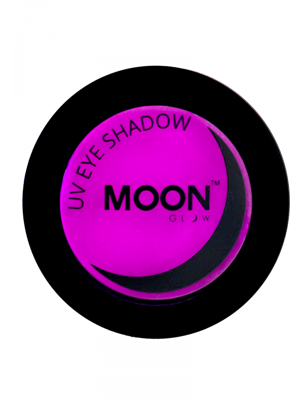 Neon UV Eye Shadow Paars
