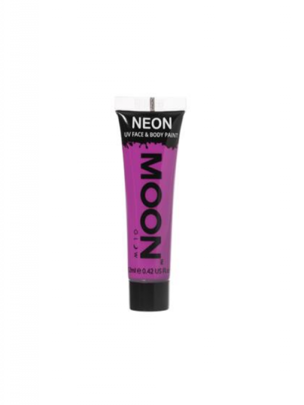 Neon UV Face & Body Gel Paars