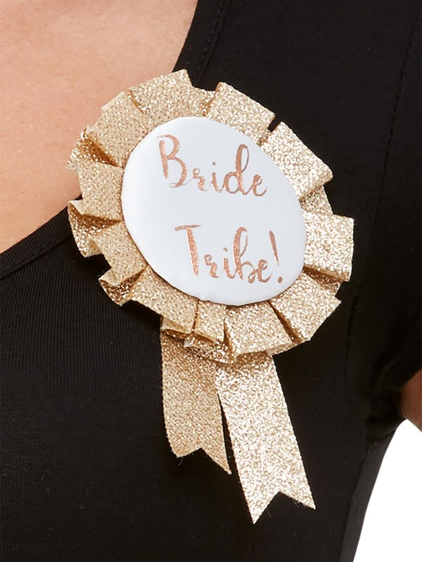 Deluxe Glitter Bride Tribe Rosette