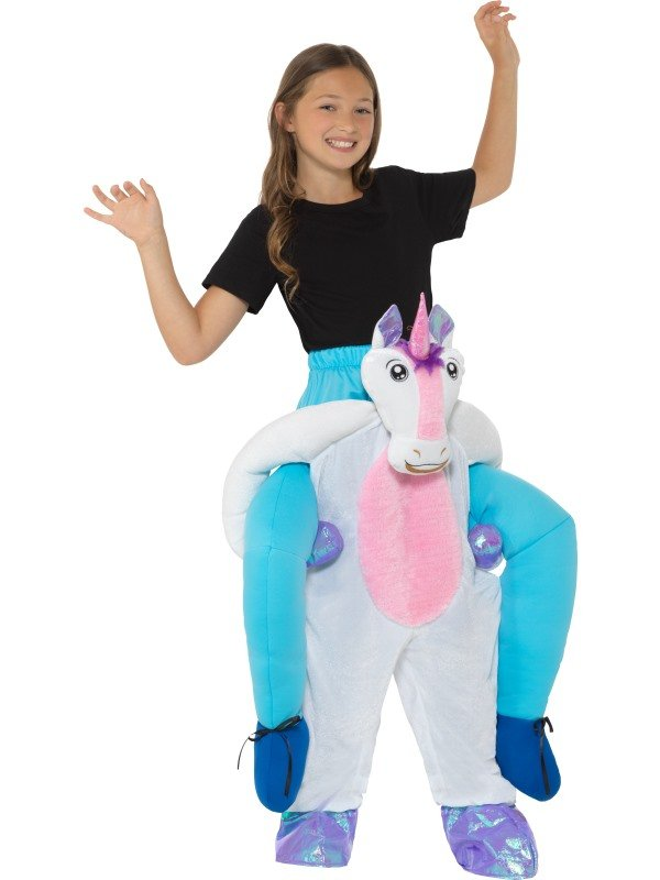 Kids Piggyback Unicorn Kostuum