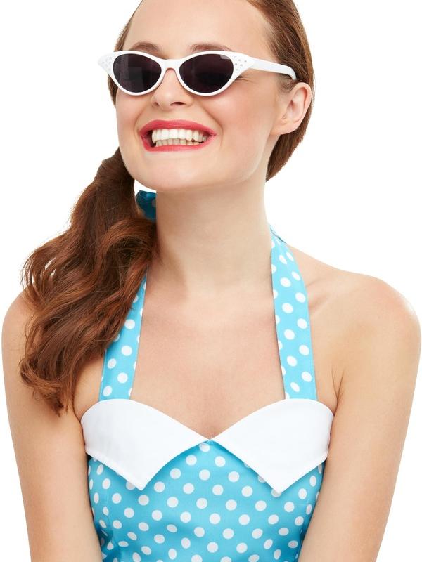 Flyaway Style Rock & Roll Sunglasses Wit