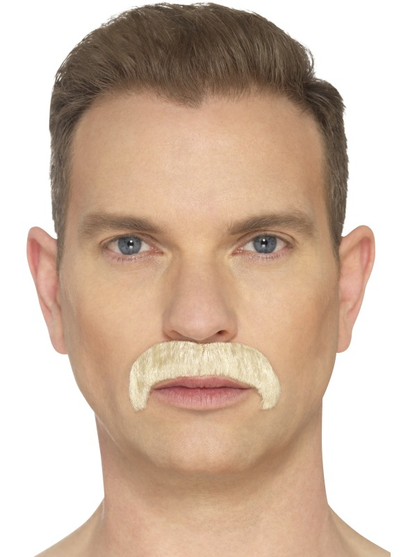 The Horseshoe Moustache Blond