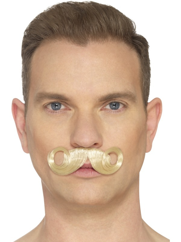 The Imperial Moustache Blond