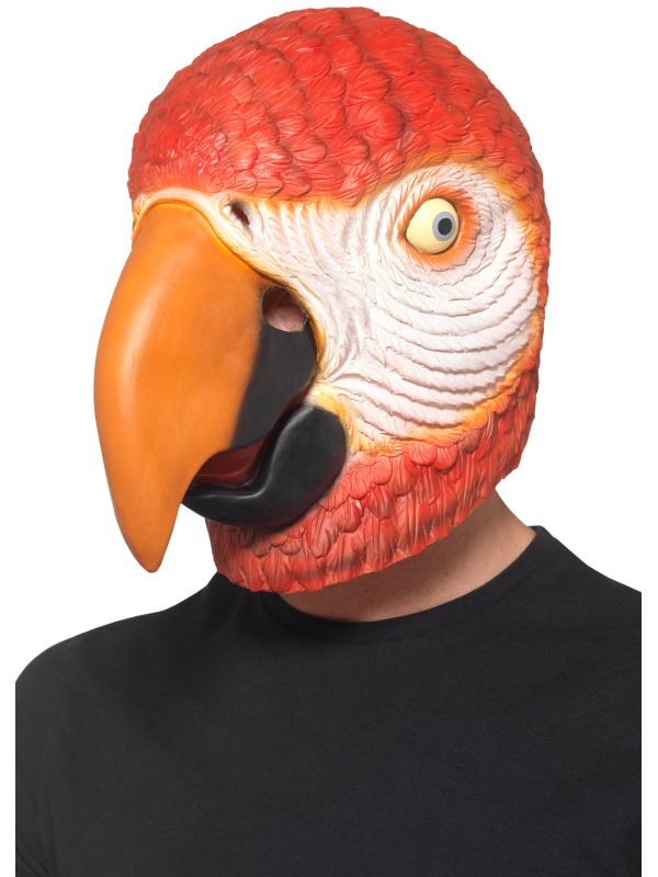 Parrot Latex Masker