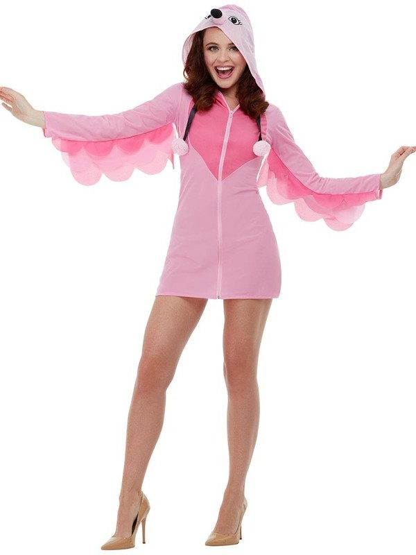 Flamingo Dames Kostuum