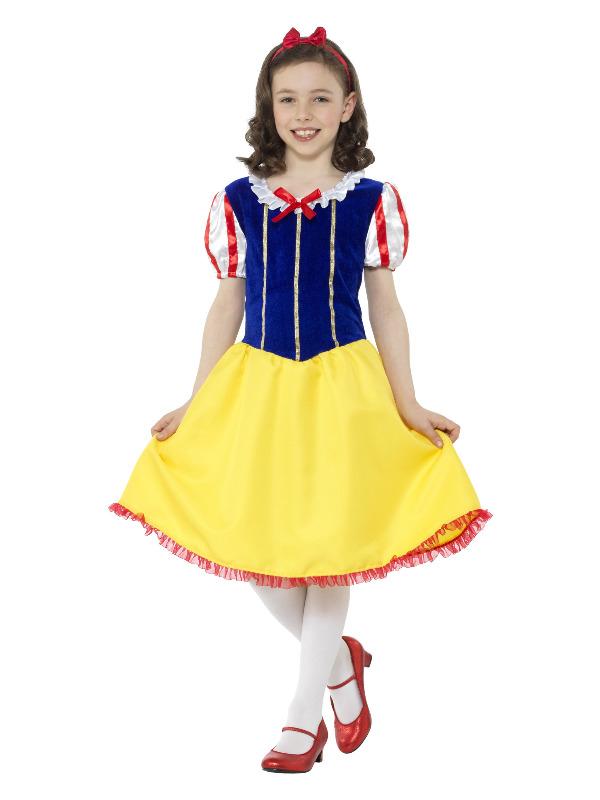 Deluxe Princess Snow Girl Kostuum