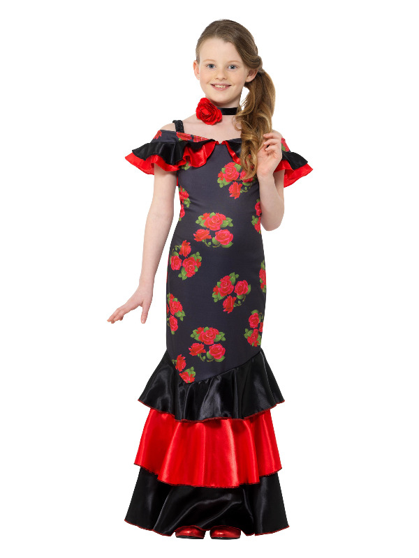 Flamenco Girl Kostuum