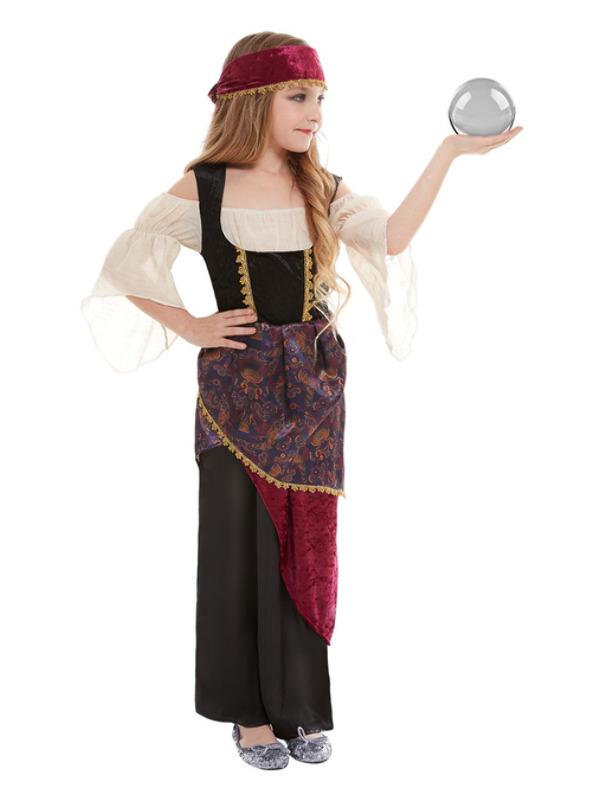 Deluxe Waarzegster Kinder Kostuum