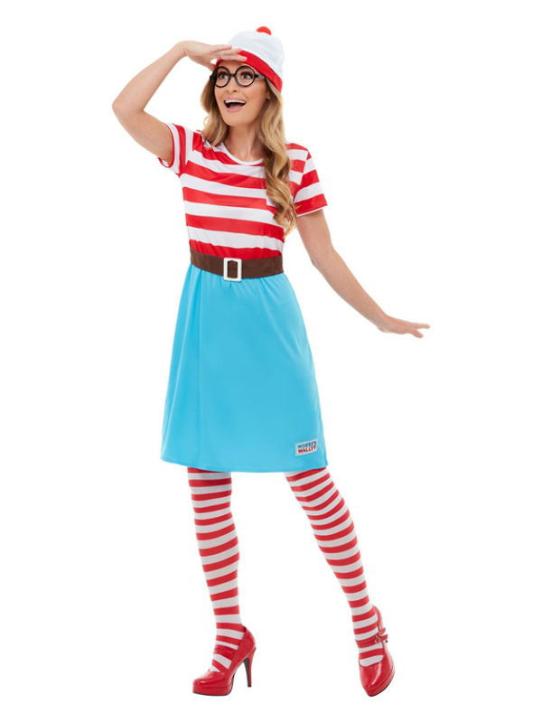 Where's Wally? Wenda Dress Kostuum