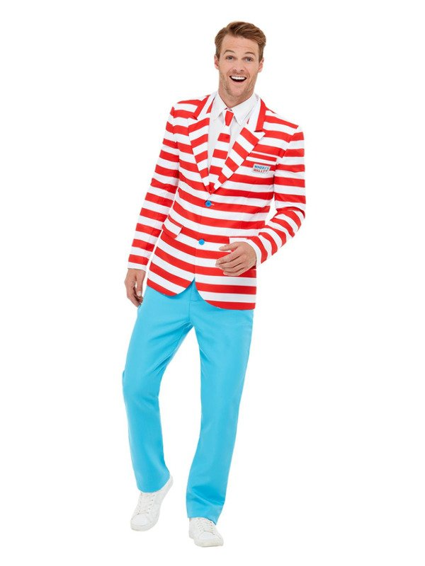 Where's Wally? Suit Kostuum