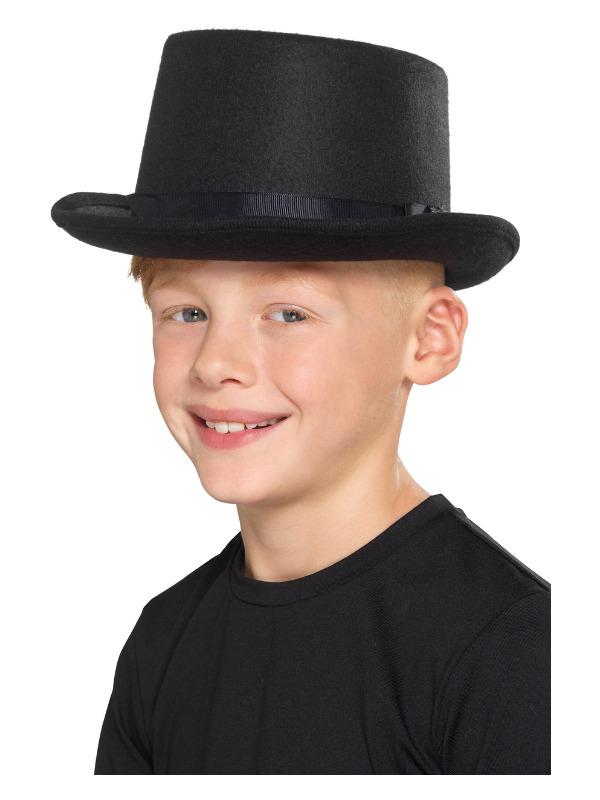 Kids Top Hoed Zwart