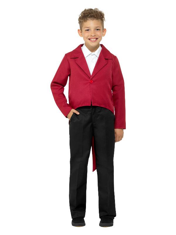 Tailcoat Rood Kinder