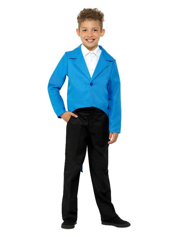 Tailcoat Blauw Kinder