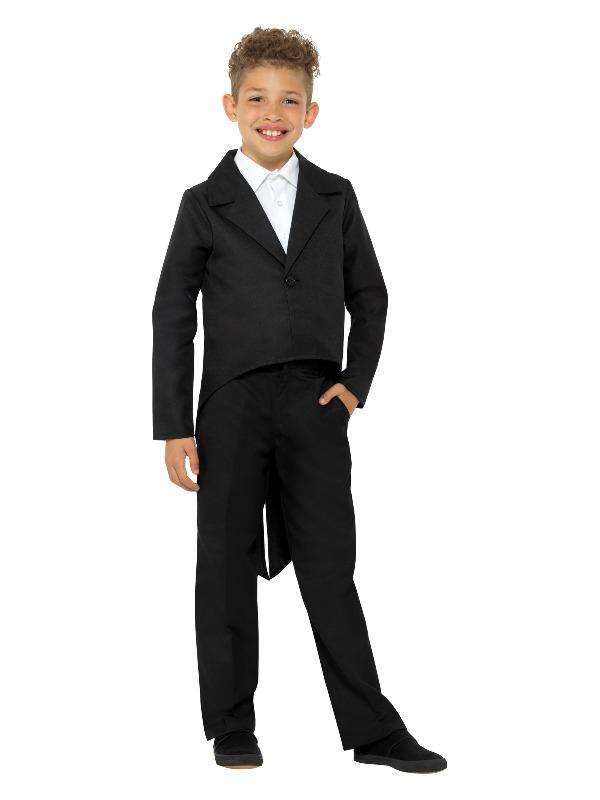 Tailcoat Zwart Kinder