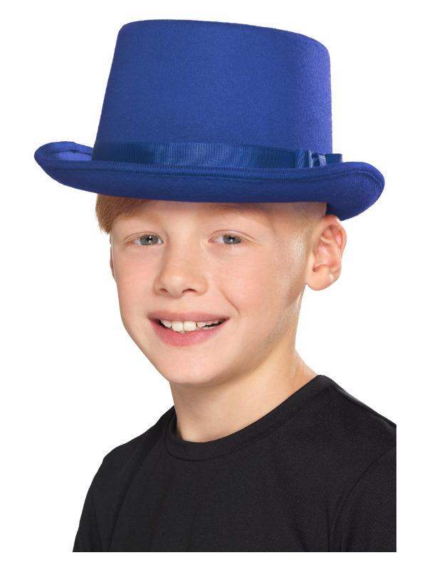 Kids Top Hoed Blauw