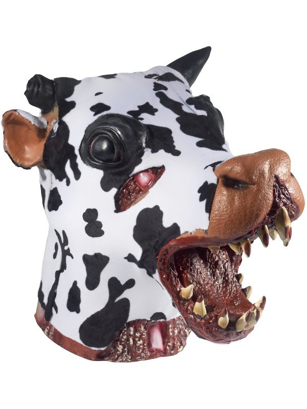 Deluxe Butchered Daisy The Cow Head Masker