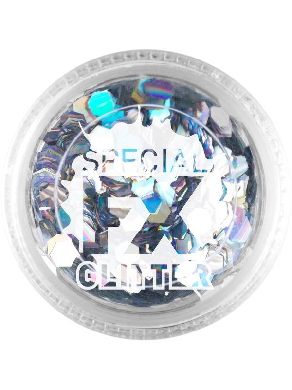 Make-Up Confetti Glitter Zilver