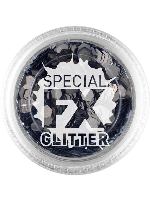 Make-Up Confetti Glitter Black
