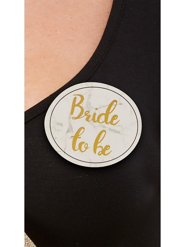 Bride to Be Party Button