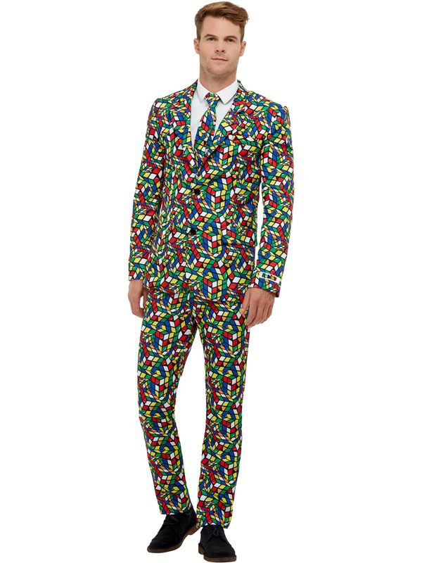 Rubik's Cube Kostuum