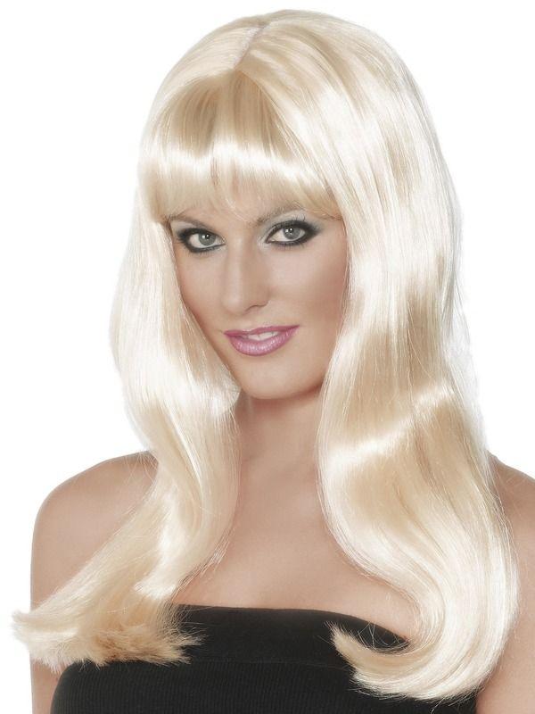 Mystique Pruik Blond