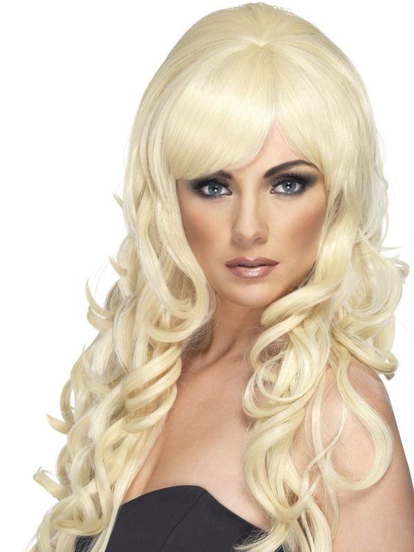 Pop Starlet Pruik Blond