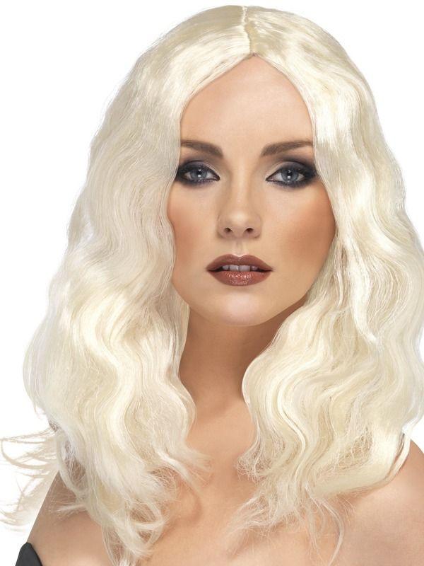 Superstar Pruik Blond
