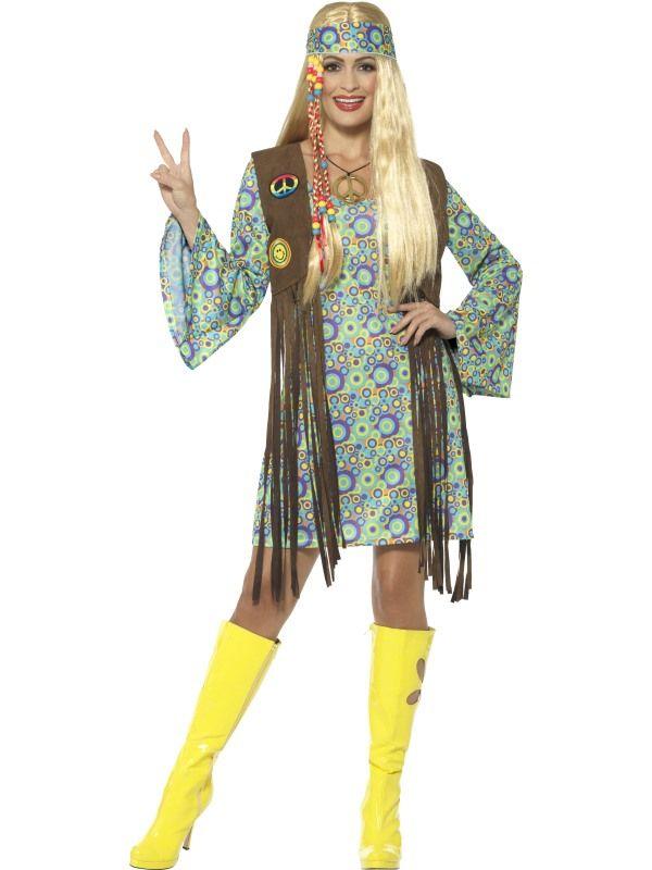 1960's Hippie Chick Kostuum