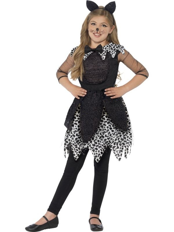 Deluxe Midnight Cat Kostuum