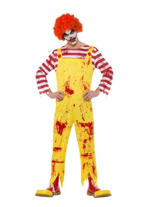 Creepy Killer Clown Kostuum
