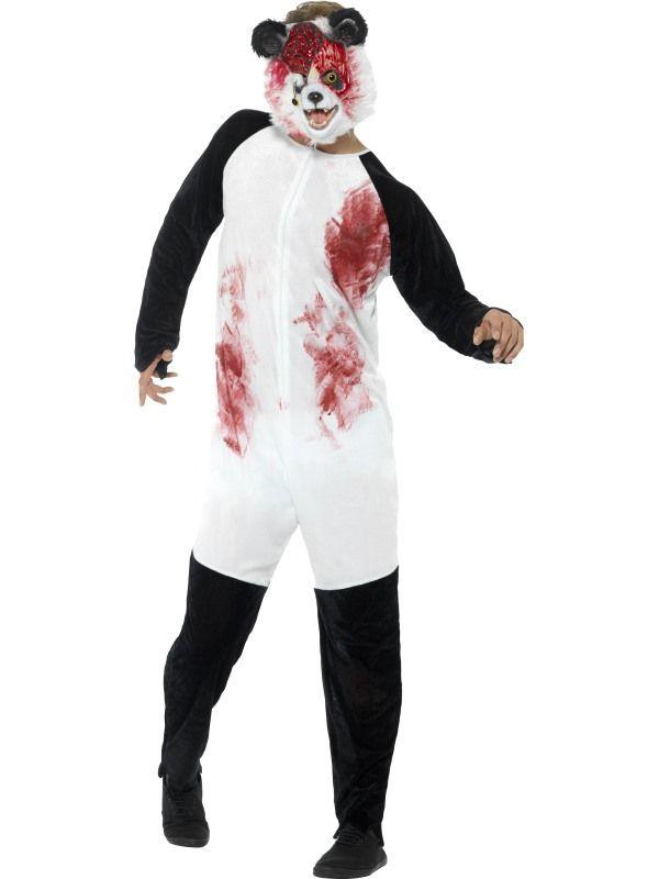Deluxe Zombie Panda Kostuum